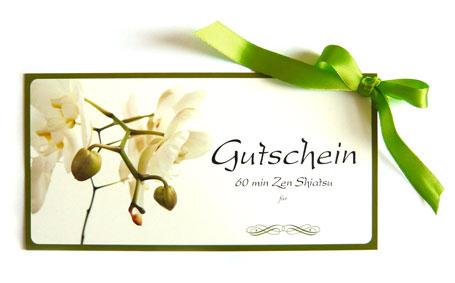 geschenkgutschein zen shiatsu bestellen